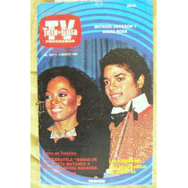 Revista Tele Guía .michael Jackson En Portada