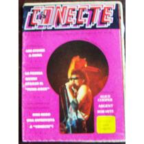 Revista Conecte,rolling Stones,kiss,alice Cooper