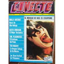 Poster Conecte,kiss En Portada,ted Nugent,plasmatic,azzor