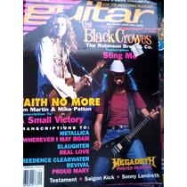 Guitar - The Black Crowes / Faith No More