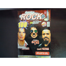 Revista Nuestro Rock Jaguares, El Tri Y Cafe Tacuba # Inedit
