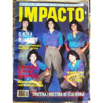 Revista Impacto, Menudo, En Portada