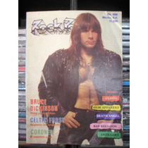 Rock Pop #220 Revista Con Poster Interior De Metallica