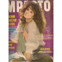 Lucía Méndez Portada Y Reportaje Revista Impacto De 1982