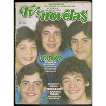 Menudo Ricky Chiquilladas En Revista Tvnovelas De 1983