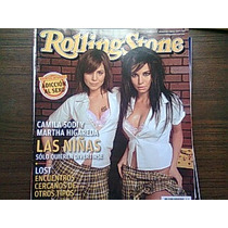 Revista Rolling Stones Camila Sodi Y Martha Higareda