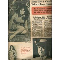 Irma Serrano Verónica Castro En Revista La Verdad De 1973