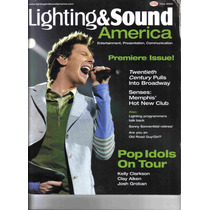 Revistas Lighting & Sound America, (luz Y Sonido) Inglés Rgl