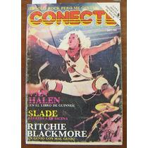 Revista Conecte,van Halen,slade,ritchie Blackmore,john L.
