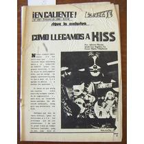 Revista Conecte, Kiss En Portada, No. 159