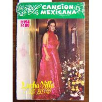 Revista La Cancion Mexicana,lucha Villa En Portada N°194