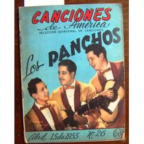 Revista,canciones De America Los Panchos En Portada N°26