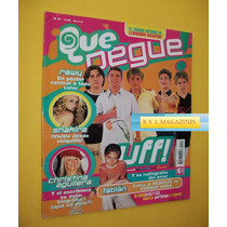 Flans Uff Ov7 Christina Aguilera Revista Que Pegue 2003 Jlo