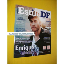 Enrique Iglesias Revista Estilo Df 2013