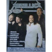 Metallica Edicion Especial De La Revista Rock Stage 2004