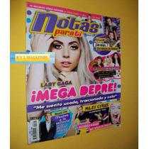 Lady Gaga Miley Cyrus Revista Notas Para Ti 2014