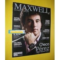 Sergio Perez Formula Uno Revista Maxwell Checo Perez F1