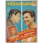 Revista México Canta Alberto Vázquez Enrique Guzmán 1966
