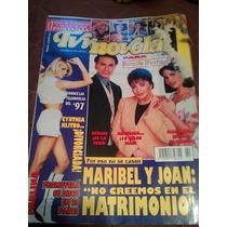 Revista Tv Y Novelas 17 Aniversario Paulina Joan Sebastian