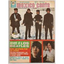 Revista México Canta Adiós Beatles Vianey Valdez 1967