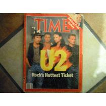 U2 Revista Time Importada Año 1987 De Coleccion