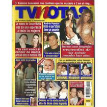 Tv Notas En La Portada: Vica Andrade, Coque Muñiz