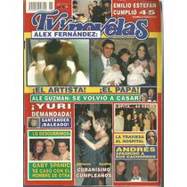 Tv Y Novelas Núm.11 En La Portada Alejandro Fernàndez