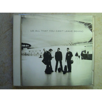 U2 Cd All That You Can Leave Behind Edicion Brazil Seminuevo