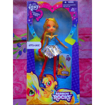 Muneca Applejack Mi Pequeno Pony De Rainbow Rocks