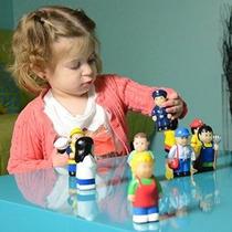 Menchies Little Kids Figuras Playset - Little Comunitarios N