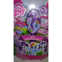 Set De Accesorios Para Cabello My Little Pony! Importado