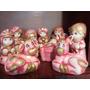 Nacimiento Decorado Varios Colores Yeso Ceramico 10 Pzas.