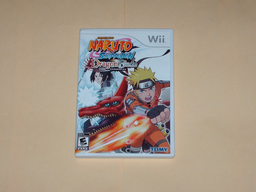 Naruto Shippuden Dragon Blade Chronicles Nintendo Wii