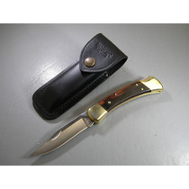 Bu110 Buck Folding Hunter 110 Navaja Madera C/point
