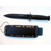Cuchillo De Cuello Táctico Funda Rigida M2175