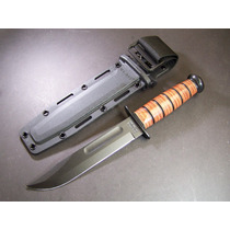 Ka5017 Kabar Usmc Knife Cuchillo Punta Clip Filo Liso