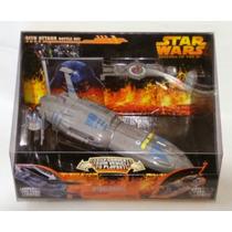 Star Wars Sith Attack Battle Set Hasbro Mini Set/nave Rots