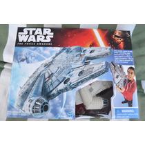 Star Wars Disney Hasbro, Halcon Milenario Episodio 7 Nave