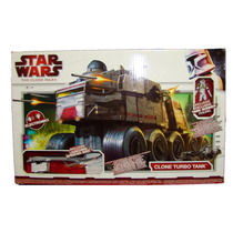 Star Wars Clone Turbo Tank Hasbro Esc 3 3/4 Nuevo Sellado