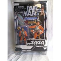Figura Luke Skywalker X-wing Pilot Cartón Vintage Excelente!