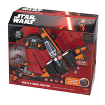 Poe Dameron X-wing Fighter Rc Control Remoto Star Wars