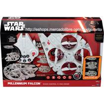 Drone Halcon Milenario Radiocontrol Star Wars 36 Cms !!
