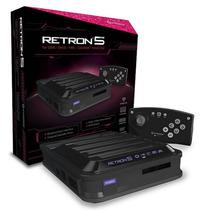Retron 5 Consolas En 1 Nes Snes Genesis Gba Famicom Original