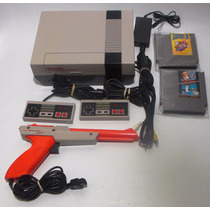 Consola Nintendo Nes Suelta Con Mario Bros 3 Retromex Tcvg