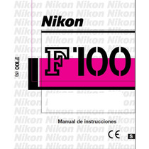 Manual De Instrucciones En Español De Camara Nikon F-100