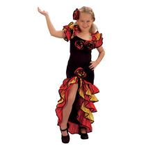 Rumba Traje - Niños Niñas Extra Grande Muchacha De La Danza