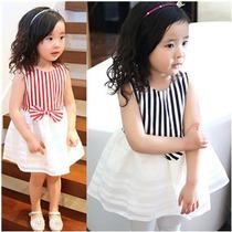 Hermoso Vestido Casual Niña Princesa Moda Koreana 2016