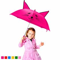 Lote De 10 Sombrillas Paraguas Para Niñas Varios Colores