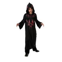 Diablo Disfraz - Niños Niñas Medio 5-6yrs Red