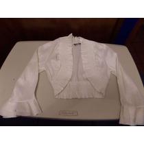 Saco Niña Talla M En Color Blanco, A Un Súper Precio, Barato